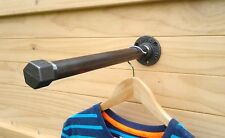 Vintage Industrial Clothes Rail made from Cast Iron-Urban-Steampunk