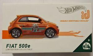 HOT WHEELS ID FIAT 500E 1/5 HW METRO 2020 WAVE 1 VHTF