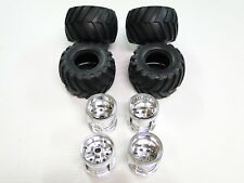 NEW TAMIYA WILD WILLY 2 Wheels & Tires Front & Rear TW13