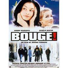 Affiche 120x160cm BOUGE ! (1997) Ambre Boukebza, Ophélie Winter, Le Coq BE