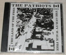 The PATRIOTS-The Guilt Walk Free CD New:1982-83,Punk,Hardcore,Suburbia,fear,dri