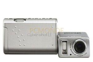 Sony DSCU50 Cybershot 2MP Digital Camera - Silver (DSC-U50)