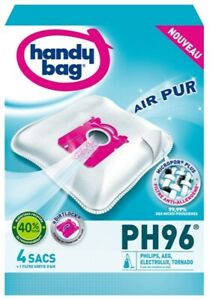 Handy Bag PH96 Philips AEG Electrolux Tornado Anti-Allergy Microfibre Vacuum