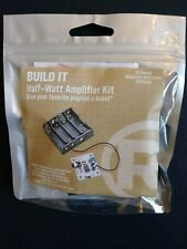 RadioShack BUILD IT Half-Watt Amplifier Kit. Give ur favorite playlist a boost