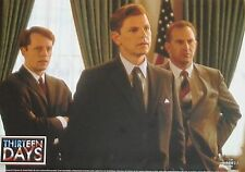 THIRTEEN DAYS - 13 Days - Lobby Cards Set - Kevin Costner, Bruce Greenwood - JFK