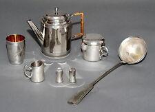 Konvolut 7 Silberfarbene Metallteile und Hotelsilber (4)