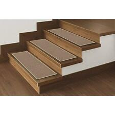 Skid-Resistant Rubber Backing Non-Slip Carpet Stair Treads-Machine Washable Area