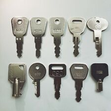 10 pcs  Elevator Key Set 2801 2802 2803 control Machine Room Key Chain