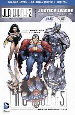 JLA Earth 2 Justice League NEW hard comic w/ Bluray DVD graphic novel-no digital