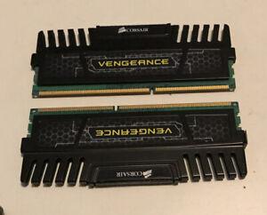DDR3 RAM, CORSAIR VENGEANCE, 8 GB (2x4GB), 1600 MHz, CL9, 1.5V, CMZ8GX3M2A1600C9