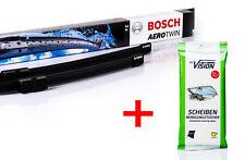 Bosch Wischer-Set vorne A967S MB A/B-Klasse Vaneo + 12 Reinigungstücher