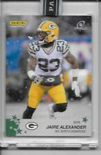2019 Panini Instant Green Bay Packers Playoffs JAIRE ALEXANDER green 5/10 RARE
