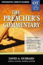 NEW Ecclesiastes / Song Of Solomon (The Preacher's Commentary, Volume 16)