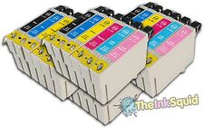 24 T0791-T0796 'Owl' Ink Cartridges Compatible Non-OEM with Epson Stylus 1410