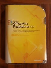 NEW Microsoft Office Visio Professional 2007 Full Version SEALED BOX