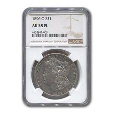 1896-O Morgan Dollar AU-58 NGC (PL)