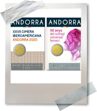 2 x 2 EURO *** 2020 ANDORRA  !!!