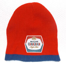 Molson Canadian Beer Lager Red Cap Hat Beanie Toque NTW