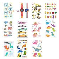 Rocooart Tatuaggi Temporanei per Bambini Adesivi per Tatuaggi - Adesivi per D5K3