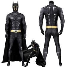 Batman Costume Cosplay Suit Bruce Wayne The Dark Knight Rises