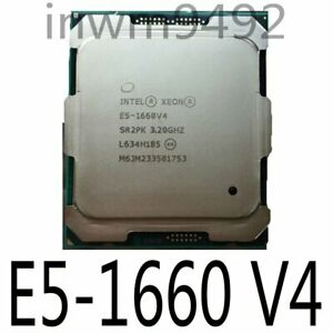 Intel Xeon E5-1620 V4 1630 V4 1650 V4 1660 V4 LGA2011-3 CPU Processor