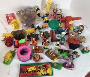 Vintage Junk Drawer Advertising & Toy Lot Please Read Description S1
