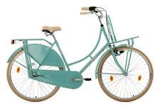 """Hollandrad 28"""" Damenrad Tussaud Mint 3 Gänge Lastenträger Vorn KS Cycling 326H"""