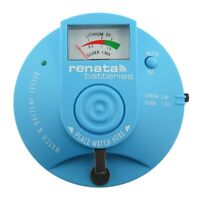 Official Renata Watch And Battery Tester Analyzer Silver 1.5V and Lithium 3.0V