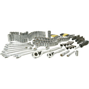 Stanley STMT71653 145-Pc. 1/4 in. and 3/8 in. Drive Mechanic's Tool Set New