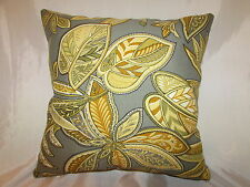 "2 DECORATIVE THROW PILLOW  CUSHION COVERS 16"" INDOOR OUTDOOR FLORAL"
