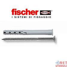 FISCHER 02556 SXS 10x100 RZ TASSELLI TASSELLO PROLUNGATO VITE TESTA CROCE 50 PZ