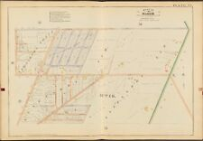 1888 E. ROBINSON MONROE COUNTY NY ROCHESTER (WARD 16) CULVER ROAD COPY ATLAS MAP
