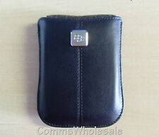 Genuine Original Blackberry Storm 9500 Leather Pocket HDW-18972-003 - NEW