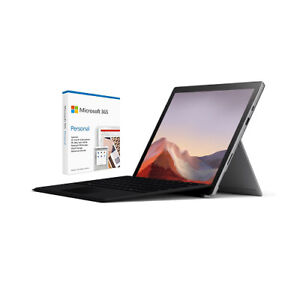 Microsoft Surface Pro 7 12.3 Intel Core i5 8GB RAM 128GB SSD Platinum Bundle