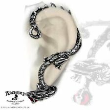 Alchemy UL17 Oriental Dragon Ear Wrap singolo Orecchino per orecchio sinistro dell' PELTRO Crystal