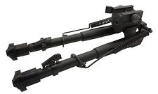 Tactical Rifle Bipod QD Spring Lock 8.5 to 10.5 Adjustable Picatinny Rail Mount
