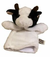 Living Nature Farm Animals Hand Puppet Glove Soft Cow Cuddly Animal Toy Gift