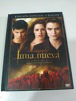 Saga Crepuscolo luna Nuovo 2 DVD+Libro Edizione Speciale Libro