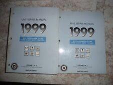 Original,1999 All Passenger Cars & Light Duty Trucks Unit Repair Manuals,Vol 1/2