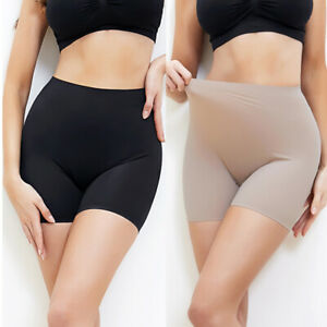 Women's Slip Shorts Underwear Ultra Thin Stretch Boyshorts Body Shaper Panties