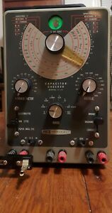 Heathkit IT-11 Capacitor Checker Tester Excellent Condition + Assembly Manual