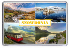 Snowdonia Wales Fridge Magnet 01
