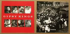 GIPSY KINGS Ultra Rare 2004 DOUBLE SIDED PROMO POSTER FLAT of Roots CD 12x12 USA