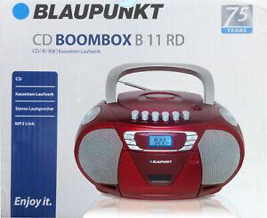 Boombox Blaupunkt B11RD Radio Kassette CD Player