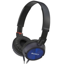 Sony Fashion DJ Headphones for iPod / iPhone / MP3 Devices - Blue