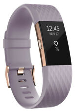 Fitbit Charge 2 Heart Rate Fitness Wristband, Special Edition, Lavender, Small
