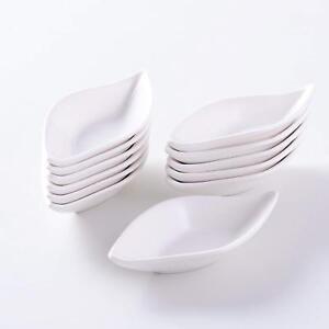 "MALACASA 12-pieces 4.75"" MINI Ceramic Ramekin Dishes Porcelain Dessert Snack Dip"