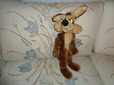 ACME VINTAGE LOONEY PLUSH DOLL FIGURE TOY CHUCK JONES  MR COYOTE WILEY E COYOTE