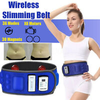 X6 Wireless Double Infrarouge Vibrating Electric Slimming Belt Burning