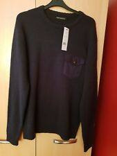 BNWT french connection navy blue jumper size M